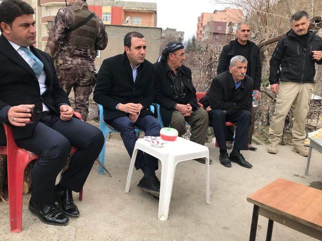 Başkan Bedirhanoğlu incelemelerde bulundu