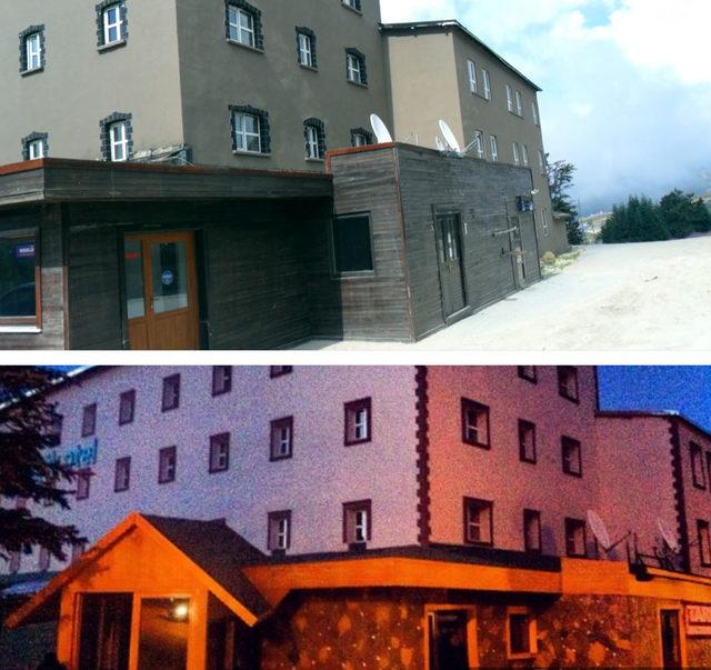 Uludağ'daki Büyük Otel yıkıldı, arsası otopark oldu