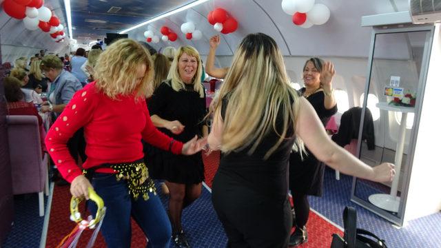 Airbus'ta kadınlar matinesi