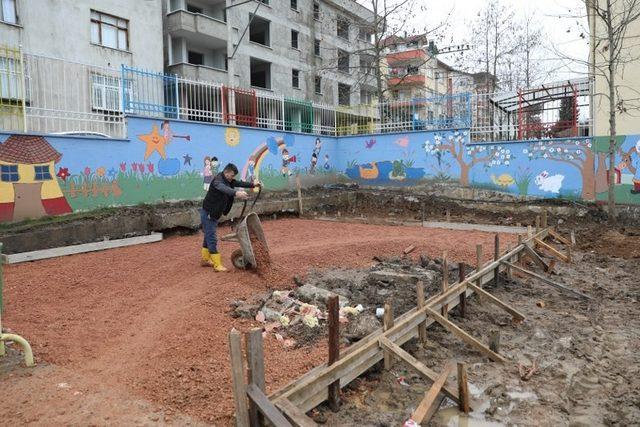 Fatsa Belediyesinden okullara çevre düzenlemesi