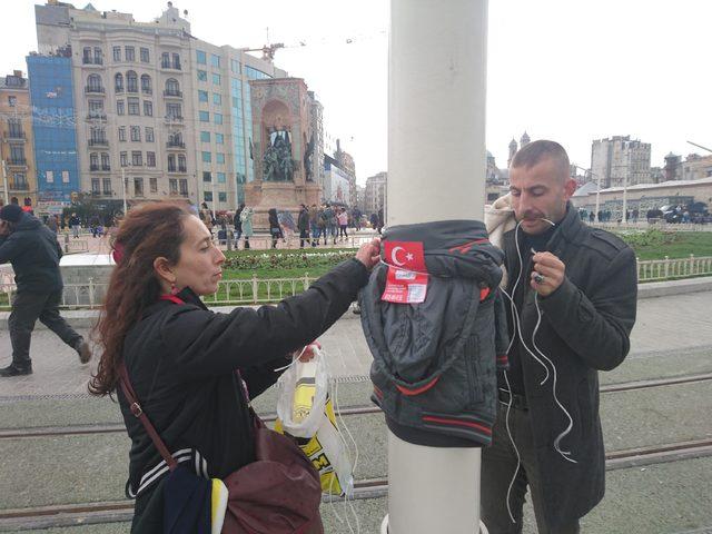 Taksim Meydanı'nda