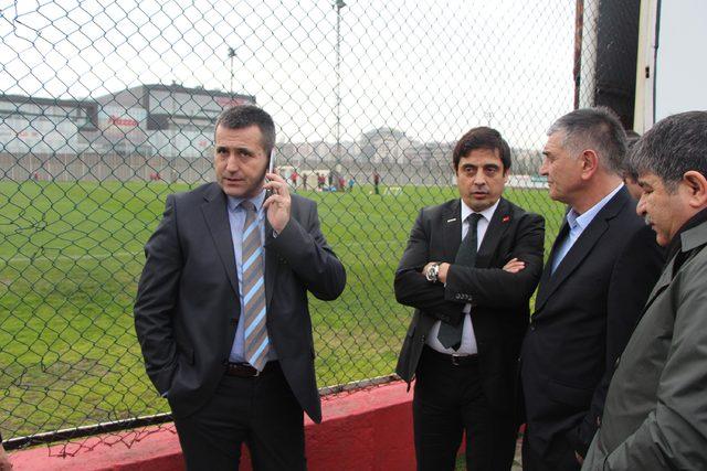 Samsunspor, Büyükşehir Belediye Erzurumspor maçına hazırlanıyor