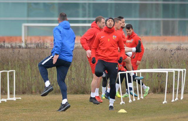 Kayserispor, Demir Grup Sivasspor maçının hazırlıklarına başladı