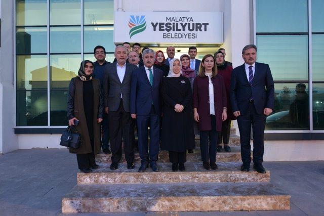 Başkan Polat Kültür Sarayı projesini Çalık'a anlattı