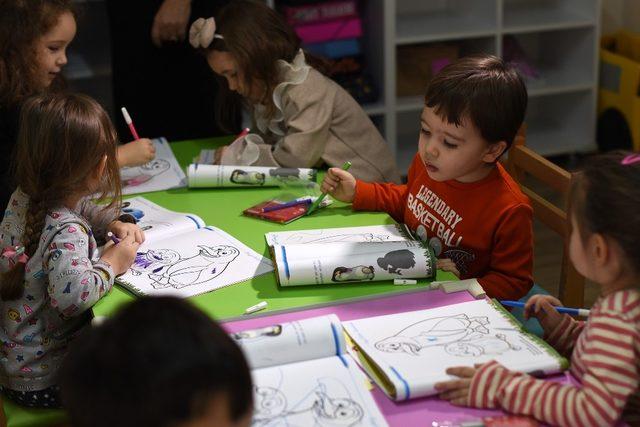 Tepebaşı Belediyesi çocuk eğitim kursları devam ediyor
