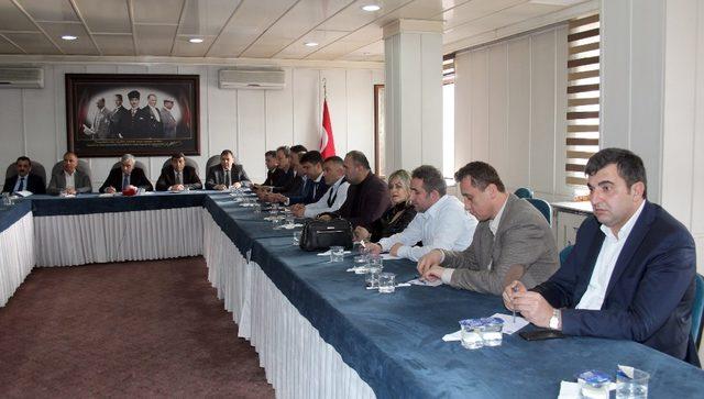GMİS Başkanlar Kurulu toplandı