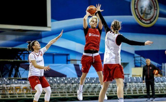 A Milli Kadın Basketbol Takımı, Belarus'un konuğu