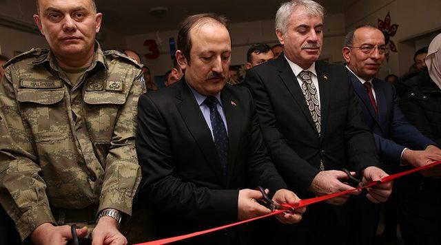 Şehit Ömür Erbay Z Kütüphanesi'nin açılışı gerçekleştirildi