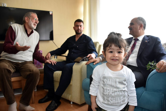 Belediye Başkanından Afrin gazisine ziyaret