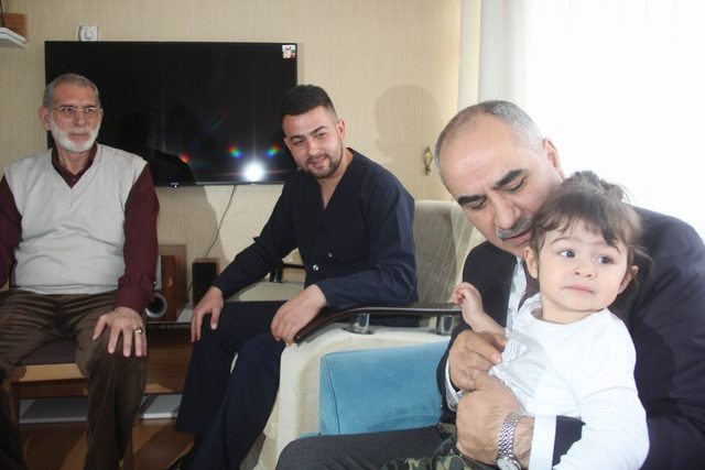 Afrin gazisi Sivas'ta