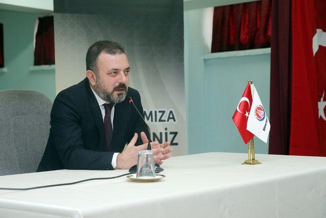 Başkan Ercan gençlerle buluştu