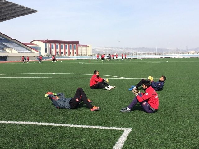 Kars 36 Spor Kendirli Belediye Spor hazırlıklarını sürdürüyor