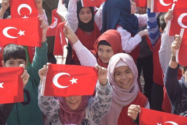 Şarkışla'dan Zeytin Dalı Harekatı'na anlamlı destek