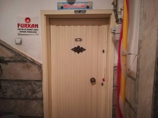 Furkan Vakfı'nın Kayseri şubesi mühürlendi