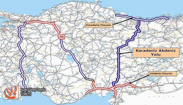 Karadeniz, 2019'da Akdeniz ile buluşacak