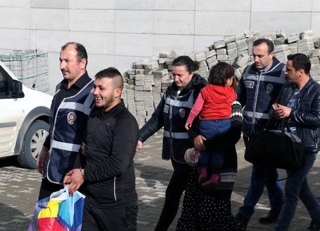 Samsun'da aranan 10 kişi yakalandı