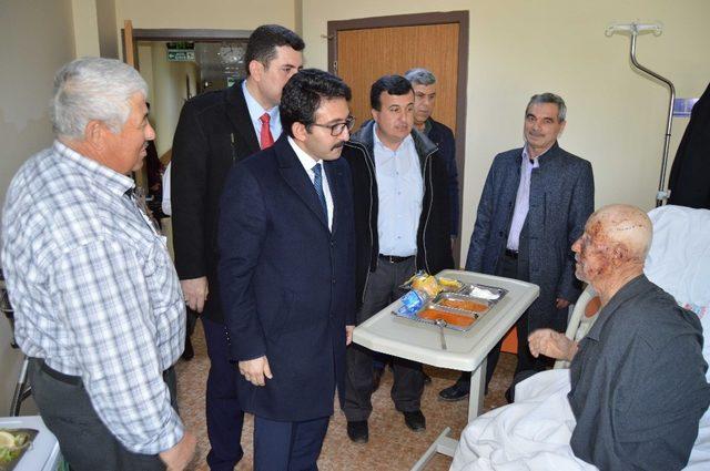 AK Parti'den hasta ziyareti