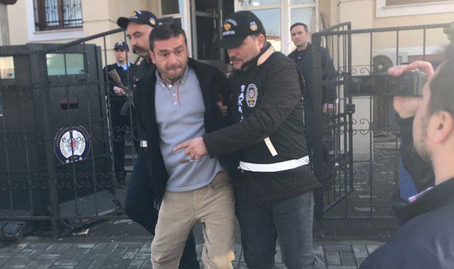 Polisi görüp kaçmaya çalışınca yakalandı