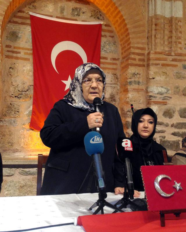 Bursa'da 28 Şubat mağduru kadınlardan Mehmetçik için 10 bin Fetih Suresi
