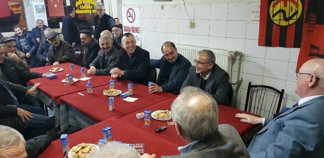 Başkan Kurt Sandıközü Köylüleri Derneği üyeleri ile buluştu