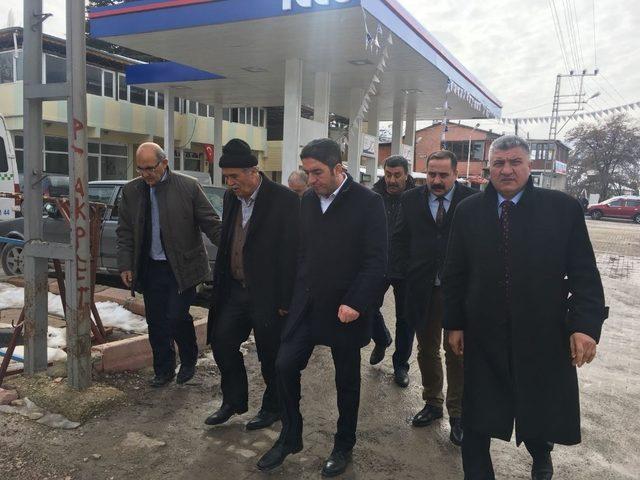 CHP il Başkanı Kiraz'dan Akçadağ'a ziyaret
