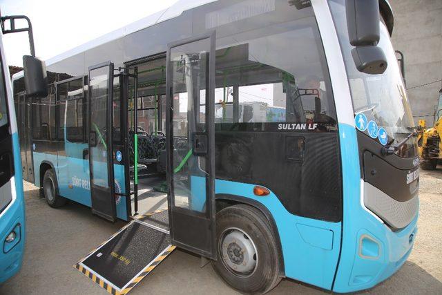 Siirt Belediyesine 3 otobüs