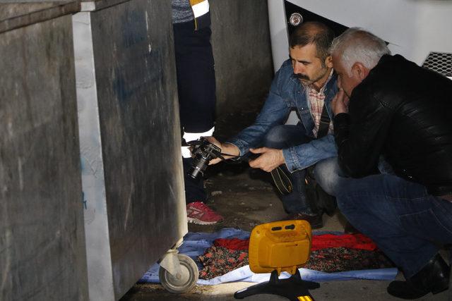 Antalya'da çöp konteynerinde bebek cesedi bulundu