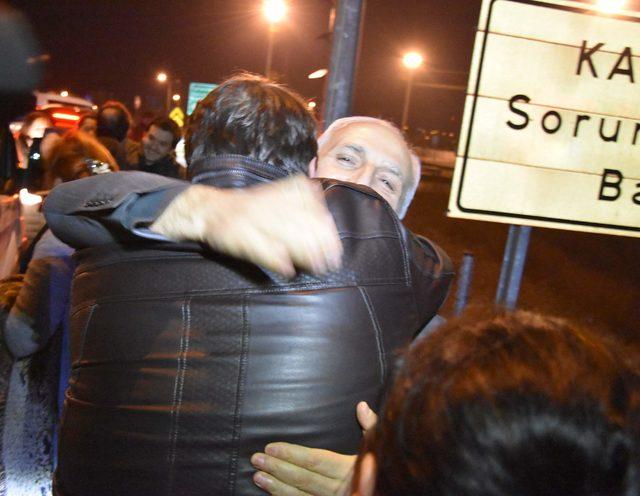 FETÖ'nün Mülkiye Yapılanması Davası Hüseyin Avni Mutlu cezaevinden çıktı(EK)