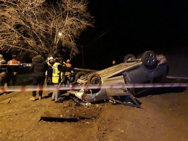 Elazığ'da trafik kazası: Biri polis 2 kişi hayatını kaybetti, 2 kişi de yaralandı