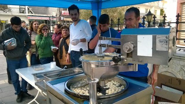Didim'de Afrin şehitleri için lokma hayrı