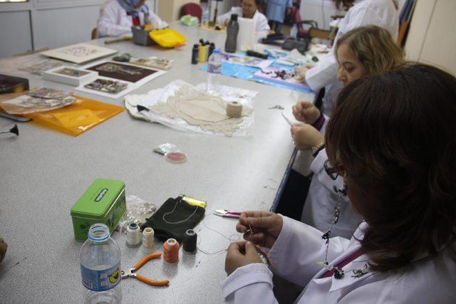 Meslek Eğitim Merkezi, fabrika gibi çalışıyor