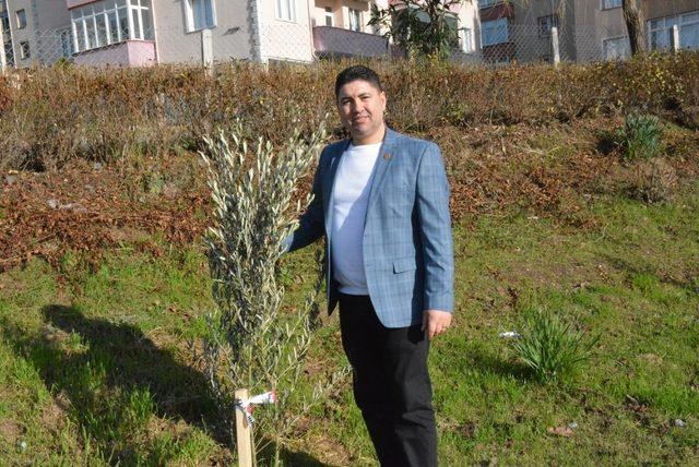 Sinoplu muhtardan 'Zeytin Dalı Harekatı'na destek