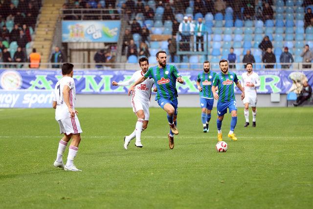 Çaykur Rizespor - Altınordu: 0-3