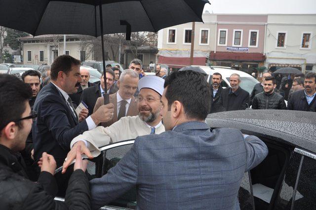 Diyanet İşleri Başkanı Erbaş: Askerimiz savaşı İslam ahlakına göre yapıyor (2)