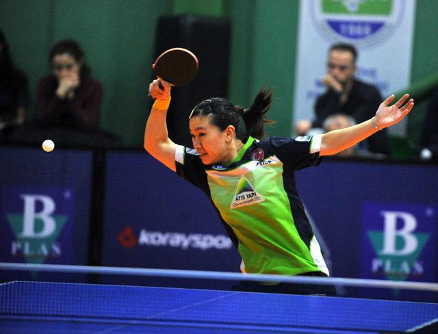Bursa Büyükşehir Belediyespor Masa Tenisi Takımı, Şampiyonlar Ligi'nde yarı finale yükseldi