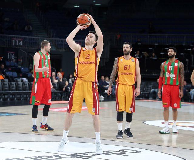 Galatasaray Odeabank - Pınar Karşıyaka: 98-82