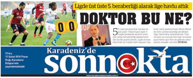 Trabzonspor'dan iki farklı seri