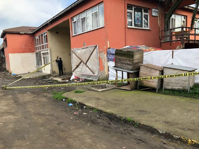 Trabzon'da Hayvanları Koruma ve Yaşatma Derneği'ne saldırı