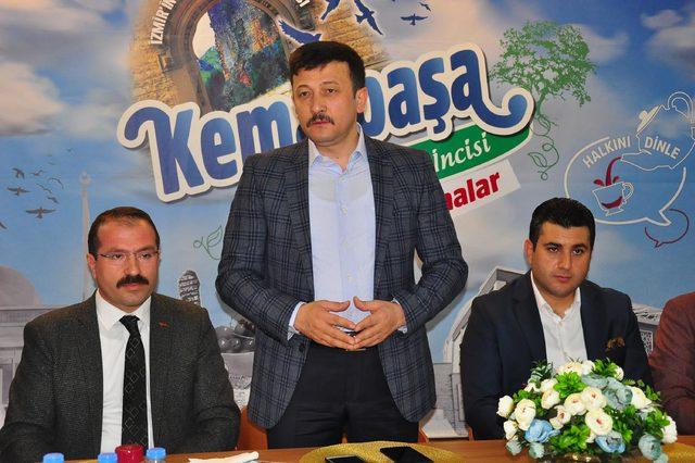 AK Parti'li Dağ'dan, CHP'li Kocaoğlu'na Afrin teşekkürü