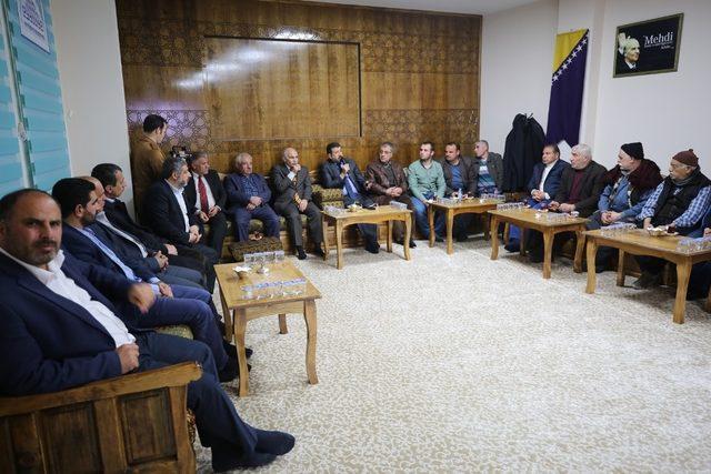 Başkan Ekinci esnaf odaları temsilcileriyle buluştu
