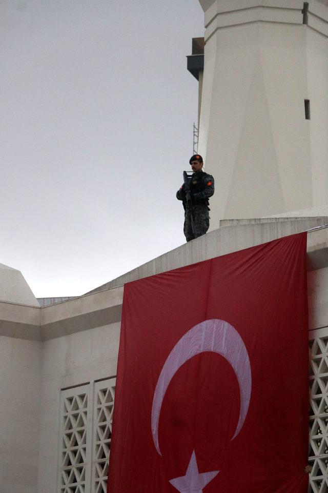 Afrin Şehidi Uzman Çavuş Koray Karaca son yolculuğuna uğurlandı