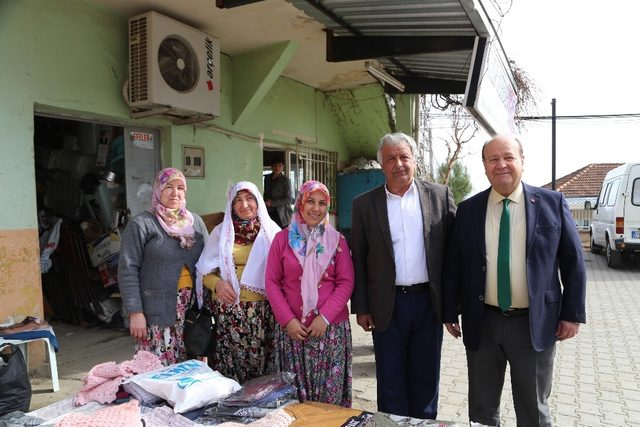 Başkan Özakcan'dan Eğrikavak Mahallesi'ne ziyaret