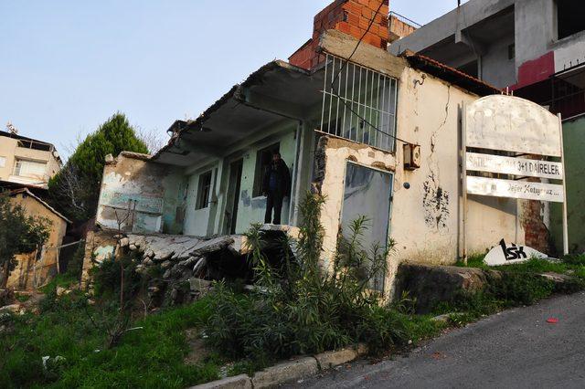 İmara kapalı mahallede ev vaadi