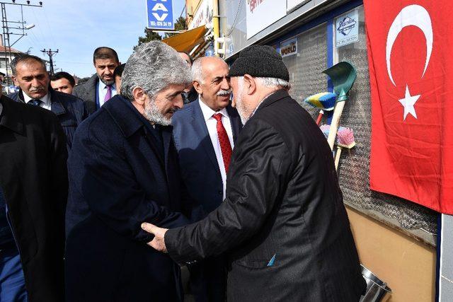 Başkan Tuna, Bala'da incelemelerde bulundu