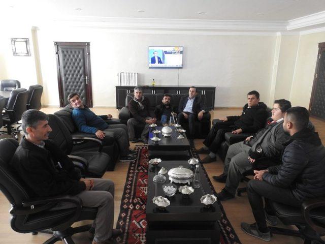 Engellilerden Başkan Bedirhanoğlu'na ziyaret