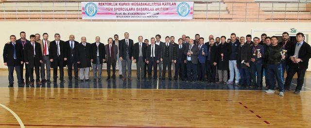BEÜ'nün 'Kış Kupası' turnuvası sona erdi