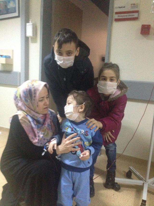 2 yaşındaki Affan'a, 14 yaşındaki ağabeyinden ilik nakli yapılacak
