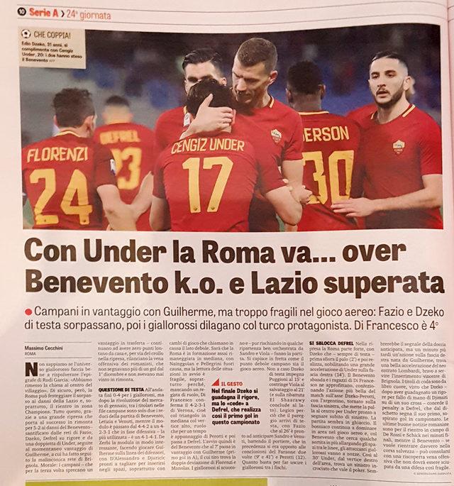İtalya Cengiz Ünder'i konuşuyor!