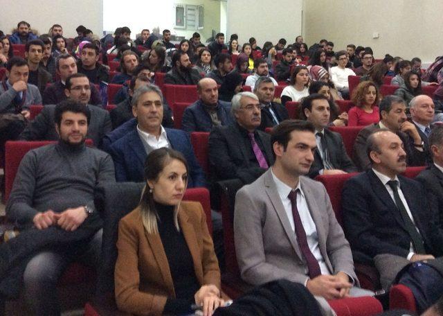 """Kars'ta, """"Patent, Marka ve Coğrafi İşaret"""" semineri düzenlendi"""