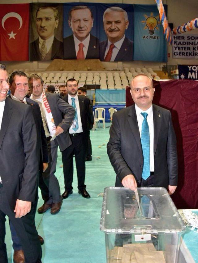 AK Parti'li Mersinli'den kongre teşekkürü